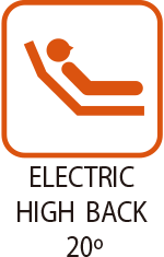 Electric High Back 20°